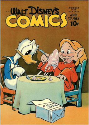 Walt Disney's Comics and Stories #47. Click for values.