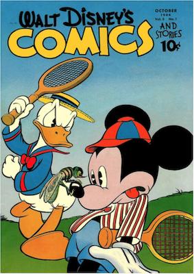 Walt Disney's Comics and Stories #49. Click for values.