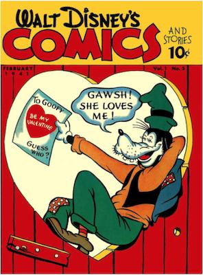 Walt Disney's Comics and Stories #5. Click for values.