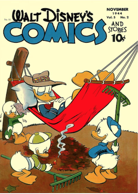 Walt Disney's Comics and Stories #50. Click for values.