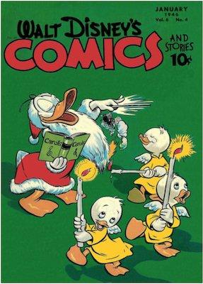 Walt Disney's Comics and Stories #64. Click for values.