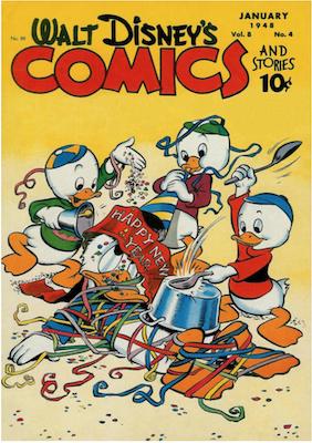 Walt Disney's Comics and Stories #88. Click for values.