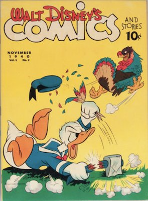 Walt Disney's Comics and Stories #2. Second in series. Click for values