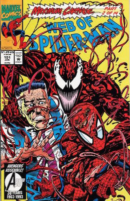 Web of Spider-Man #101. Click for values
