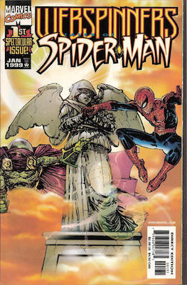 Webspinners: Tales of Spider-Man #1: Sunburst Variant Cover. Click for values