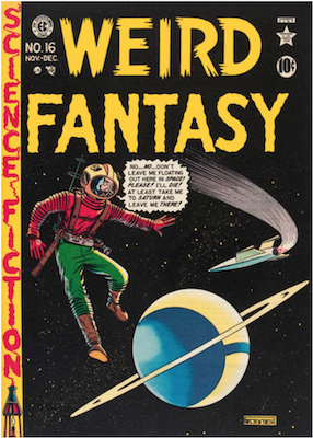 Weird Fantasy #16. Click for current values.