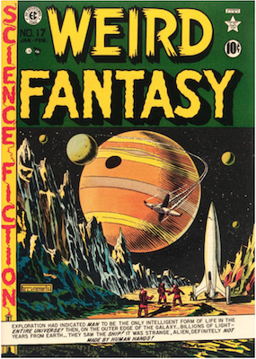 Weird Fantasy #17. Click for current values.
