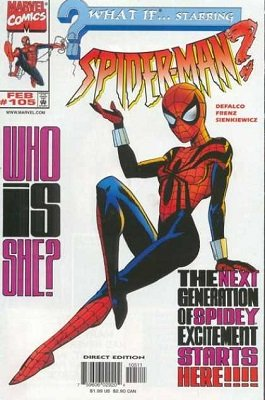 What If? v2 #105 (1998) 1st Appearance Spider-Girl (May Parker). Click for value