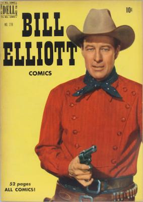 Wild Bill Elliott: Four Color #278. Dell. Click for values