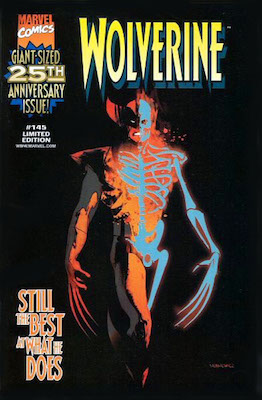 Wolverine #145 (1998) Scarce Send-Away Nabisco Promotional Variant. Click for values