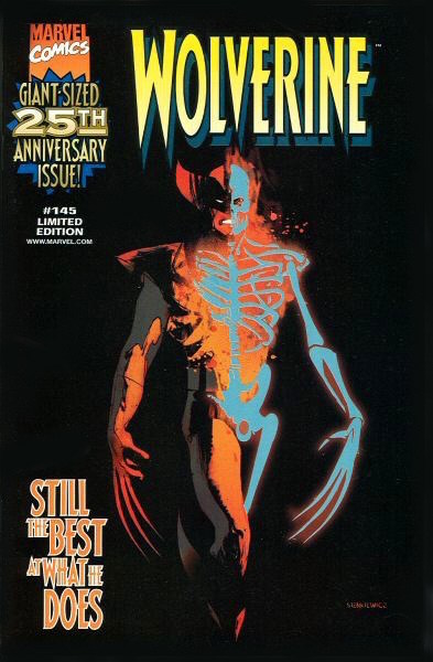 #25: Wolverine 145 Nabsico Variant, Sienkiewicz (1999). Click for values