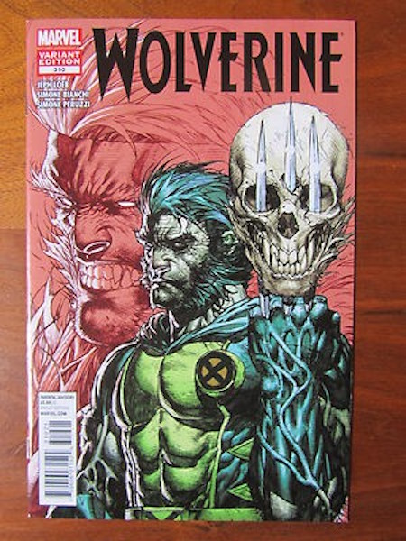 Wolverine 310 Platt (Color) Variant (2012). Click for values