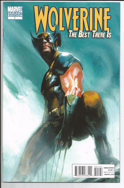 Wolverine: The Best There Is 1 Dell'otto Variant (2011). Click for values