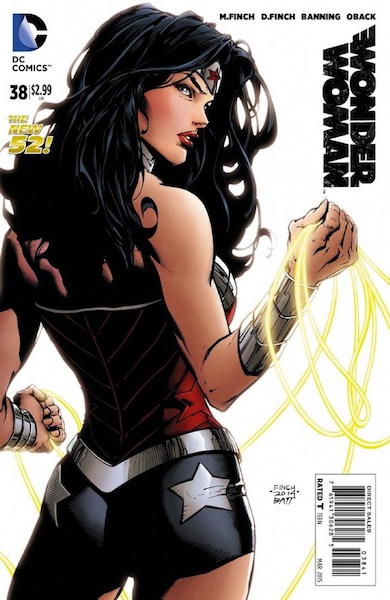 #45: Wonder Woman 38 Finch Variant (2015). Click for values
