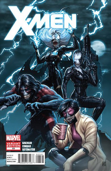 #82: X-men 23 Christopher Venom Variant (2012). Click for values