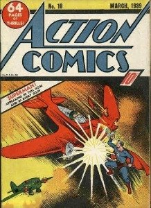 Action Comics #10 (1939) third superman cover