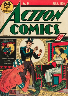 Action Comics #14. Click for value