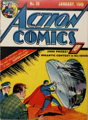 Action Comics #20. Click for values