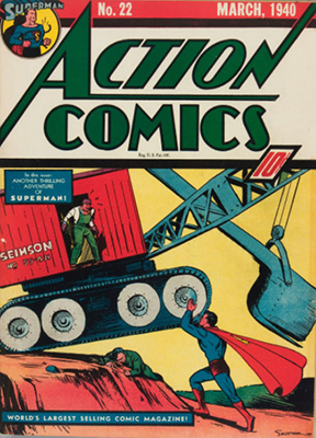 Action Comics #22. Click for value