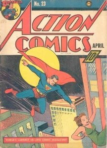 Superman in Action Comics #23: First Lex Luthor