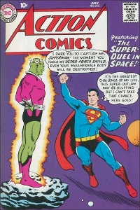 Hot Comics #63: Action Comics 242, first Brainiac. Click to invest in a copy