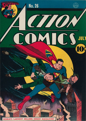 Action Comics #26. Click for value