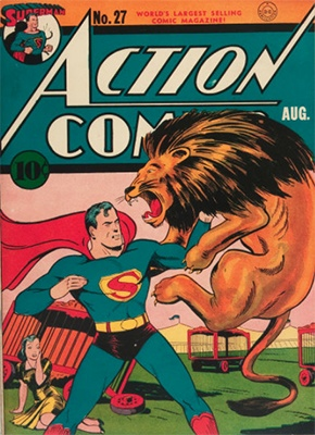 Action Comics #27. Click for value