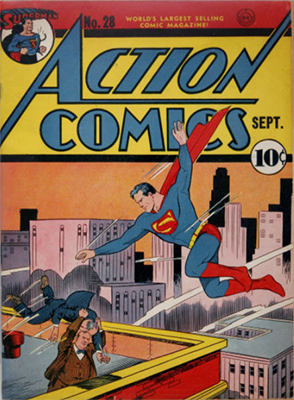 Action Comics #28. Click for value