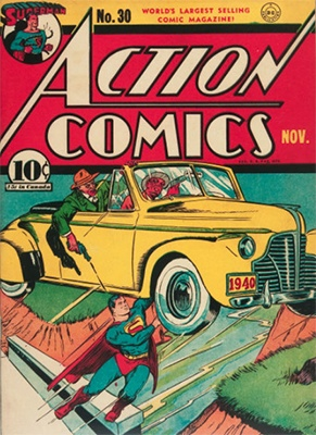 Action Comics #30. Click for values