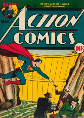 Action Comics #34. Click for values