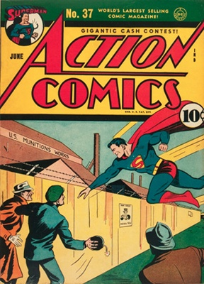 Action Comics #37. Click for values