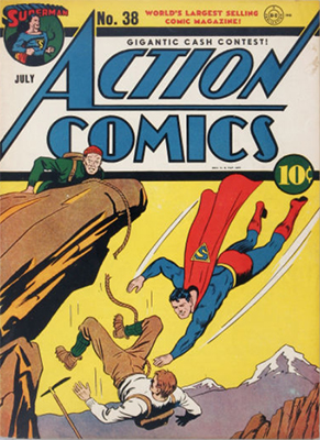 Action Comics #38. Click for values