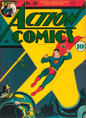 Action Comics #39. Click for values
