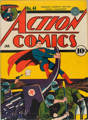 Action Comics #44. Click for value