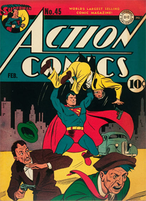 Action Comics #45. Click for value