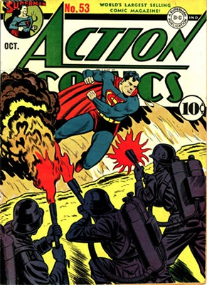 Action Comics #53. Click for value