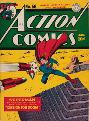 Action Comics #56. Click for value