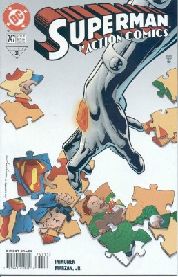 Origin and First Appearance, Dominus, Action Comics #747, DC Comics, 1998. Click for value