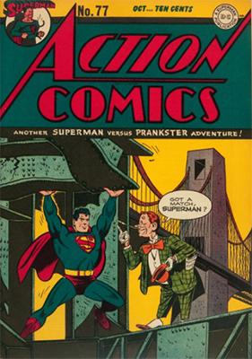 Action Comics 77. Click for value
