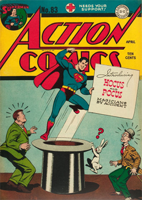 Action Comics 83. Click for value