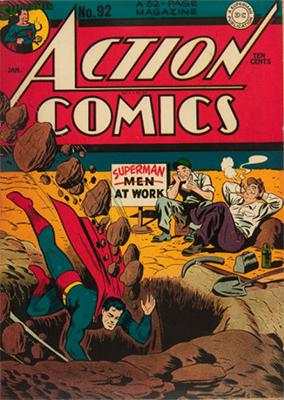 Action Comics 92. Click for value