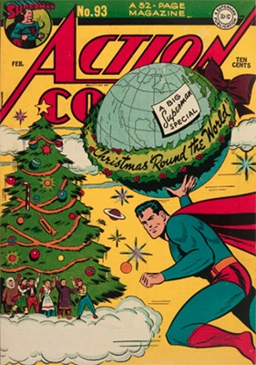 Action Comics #93: Classic Christmas cover. Click for value