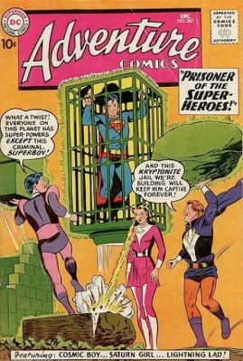 Adventure Comics #267, second appearance of the Legion of Superheroes
