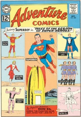 Tales of the Legion of Superheroes in Adventure Comics #300. Click for value