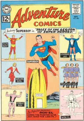 Adventure #300: Legion of Super-Heroes Takes Over Adventure Comics. Click for values