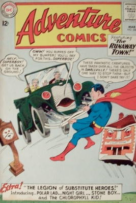 Adventure Comics #306 Substitute Heroes. Click for value