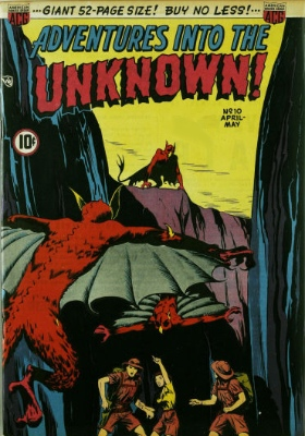 Click here to check values of Adventures Into the Unknown issue #10