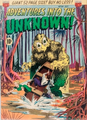 Click here to find current values for Adventures into the Unknown issue #24
