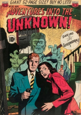 Click here to find current values for Adventures into the Unknown issue #25