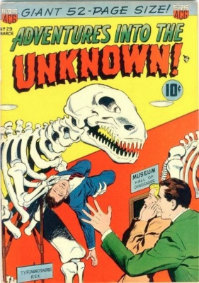 Adventures into the Unknown #29. Click for values